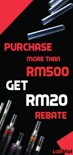 Purchase more than RM500, Get RM20 rebate